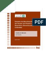 Estudio de Mercado Del Sector de Plástico (RD-Colombia)