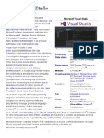 Microsoft Visual Studio - Wikipedia, The Free Encyclopedia