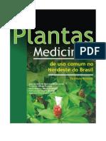 Plantas Medicinais de Uso Comum No Nordeste Do Brasil