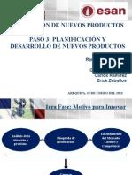 Resumen Planificación Estrategica de Nuevos Productos