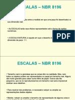 ESCALAS %96 NBR 8196