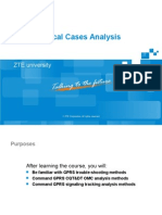 GPRS Typical Cases Analysis