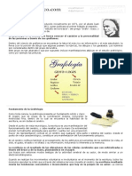 0090 Definicion y Fundamento de La Grafologia