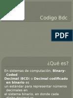 Codigo Bdc