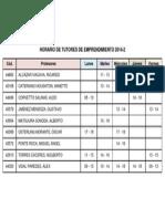 Emprendimiento Horario de Tutores 2014-2-0