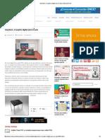 Gwydeon, El Pupitre Digital Para El Aula _ Educación 3