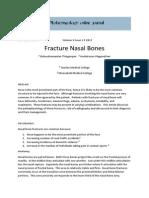 Fracture Nasal Bones