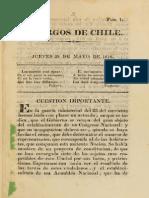 El Argos de Chile N° 1 al 21. (1818)