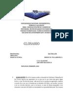 Glosario Clinica Juridica II Ramon