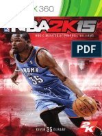 xbox 360 manual for nba 2k15