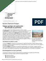 Codelco Educa_Procesos Productivos Escolares_Exploración Geológica _Información Básica