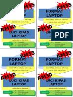 Iklan Format Laptop