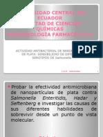 Actividad Antibacterial de Las Nanoparticulas de Plata