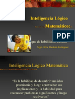 1. Inteligencia Lógico Matemático -Misselva