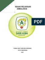 Panduan Pelayanan Ambulance New!