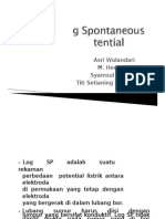 Log Spontaneous Potential (SP)