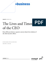 Wk1 - The Lives and Times of the CEO