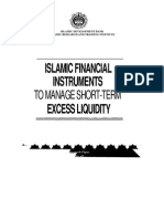Islamic Financial Instruments to Manage Short-term Excess