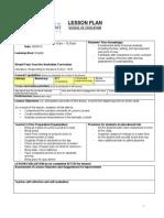 lesson plan ict assessment 1