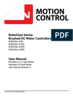 Roboclaw User Manual