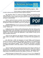 feb20.2015.docInstitutionalize a national conditional fund transfer program - solon