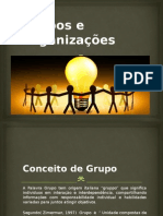 Grupos e Organizações