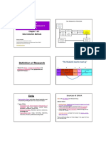 Lecture 6 & 7 (Data Collection & Questionnarie)