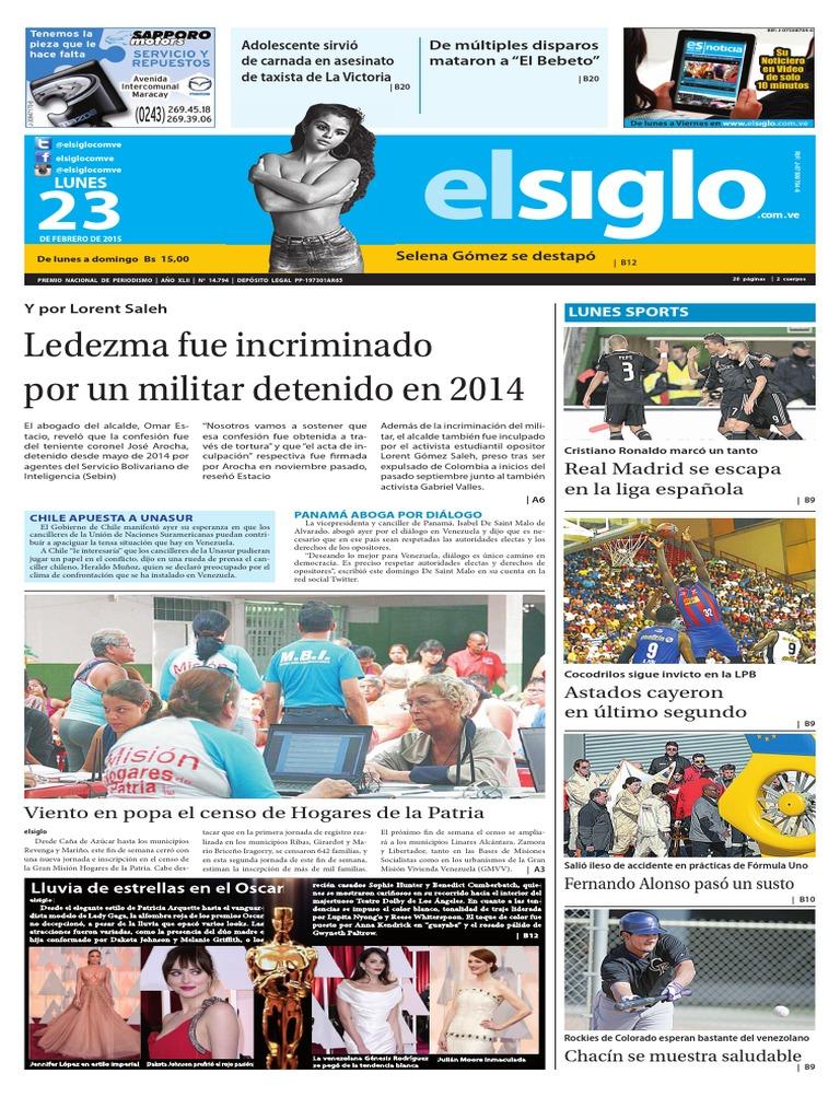 Edicion Impresa 23-02-2015