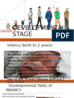 Developing Infant