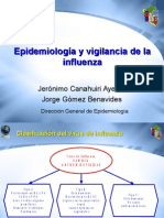 Epidem Vigilancia Influenza 14 May 09