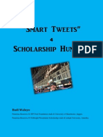 Smart Tweets for Scholarship Hunters by Budi Waluyo