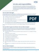 ITIL_Service Desk Roles