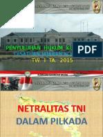 Slide Netralitas TNI KUMDAM IM