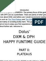 Dolus' Guide to DXM & It's Potentiators
