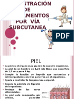 Administracion de Medicamentos via Subcutanea
