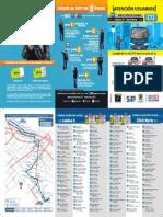 Plegable Ruta Urbana - (33 x 18) e72