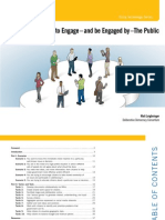 Online Tools to Engage the Public
