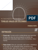 Tuneles Viales en Colombia Parte1 Daniel Perez