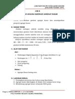 Job 10 Analisa Saringan Agregat Kerikil