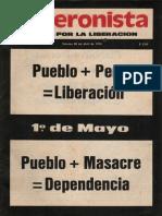 El Peronista 2 - 26 de Abril