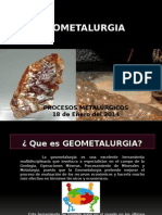 GEOMETALURGIA  (presentación)