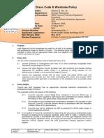 2.12 Corporate Dress Code Wardrobe Policy-27May2014