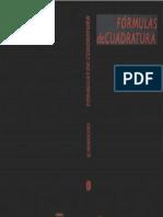 1990 - Nikolski - Fórmulas de Cuadratura
