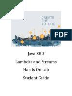 Lambdas Lab Student Guide