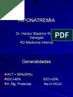 Clase de Hiponatremia 16-05-07