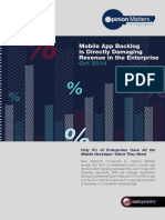 OutSystems Mobile Trend Statistics Survey 2014
