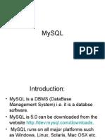 Mangala Deshpande MySQL0710