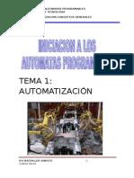 Iniciacion a Los Automatas Programables