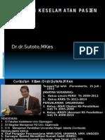 Sasaran Keselamatan Pasien - Dr. Sutoto