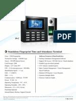 essl I9 C biometric manual